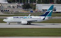 C-GWBN @ FLL - West Jet