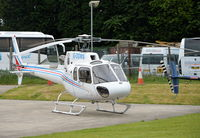 G-OOWS @ EGTB - Eurocopter AS-350B-3 Ecureuil at Wycombe Air Park. - by moxy