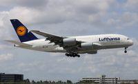 D-AIMC @ MIA - Lufthansa A380-800