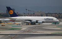 D-AIMI @ LAX - Lufthansa - by Florida Metal