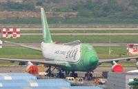 B-2421 @ ZGSZ - Jade Cargo B744F stored at SZX - by FerryPNL