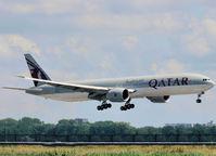 A7-BAK @ AMS - Landing on Schiphol Airport on runway 18C - by Willem Göebel
