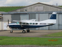 N533DL @ EGBJ - N533DL Cessna 208 seen at Staverton Airport. - by Robbo s