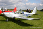 G-GHEE @ EGBK - at the EV-97 fly in. Sywell - by Chris Hall