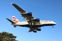 G-XLEK @ LAX - British Airways