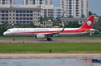 B-8960 @ ZJSY - Sichuan A321 landing - by FerryPNL