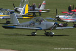 G-JLAT @ EGBK - at the EV-97 fly in. Sywell - by Chris Hall