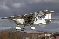 G-CGWT @ EGBR - regular visitor - by glider