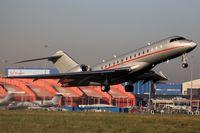 9H-VJI @ EGGW - 9h VJI vistajet takeoff at London Luton - by dave226688