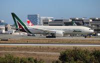I-DISU @ LAX - Alitalia