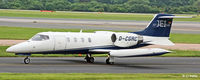 D-CGRC @ EGCC - Taxy at Manchester EGCC - by Clive Pattle