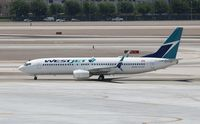 C-GYSD @ KLAS - Boeing 737-800 - by Mark Pasqualino