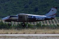 D-GMCX @ LFKC - Landing