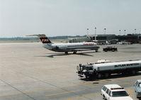 N934L @ DTW - TWA DC-9