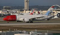 LN-LND @ LAX - Norwegian - by Florida Metal