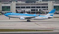 LV-FNI @ MIA - Aerolineas Argentinas