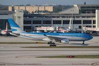 LV-FNI @ MIA - Aerolineas Argentinas - by Florida Metal