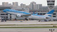 LV-FNL @ MIA - Aerolineas Argentinas