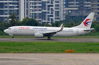 B-6017 @ ZJSY - China Easstern B738 rotating - by FerryPNL