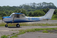 G-BRBF @ EGFH - 152, horizon Flight Training, St Athan Vale of Glamorgan based. Previously N50410, seen taxxing in. - by Derek Flewin