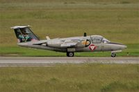 1125 @ LFRJ - Saab 105OE, Taxiing to flight line, Landivisiau Naval Air Base (LFRJ) Tiger Meet 2017 - by Yves-Q