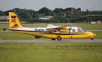 N25TN @ ORL - Aero Commander 695