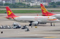 B-8069 @ ZJSY - Tianjin A320 arrived at its stand. - by FerryPNL