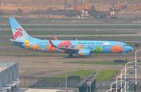 B-5606 @ ZGSZ - Smiley's Shenzhen B738 taxying past. - by FerryPNL