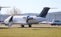 N39RE @ DAB - Challenger 605