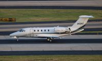 N43FC @ ATL - Citation VII