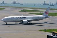 JA701J @ VHHH - JAL B772 arrived in HKG - by FerryPNL