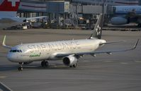 B-16206 @ VHHH - EVA A321 in Star Alliance livery - by FerryPNL