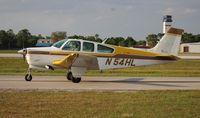 N54HL @ LAL - Beech F33A
