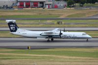 N434MK @ KPDX - DHC-8-402 - by Mark Pasqualino
