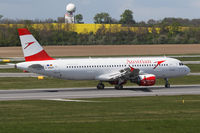 D-ABZF @ LOWW - Austrian Airlines A320 - by Andreas Ranner