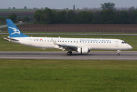 4O-AOC @ LOWW - Montenegro Airlines ERJ-195 - by Andreas Ranner