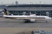 9V-SRP @ VHHH - Singapore B772 leaving us - by FerryPNL