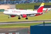 EC-LVO @ EGBB - Landing on 33 - by m0sjv
