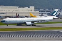 B-LAD @ VHHH - Cathay Pacific A333 - by FerryPNL