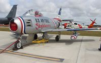 N86FR @ TIX - F-86 Sabre