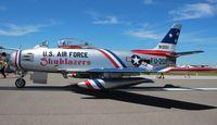 N86FR @ LAL - F-86F