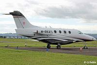 M-RKAY @ EGPN - Visiting Dundee - by Clive Pattle