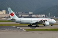 C-FIUF @ VHHH - Air Canada B772 taxying for departure - by FerryPNL