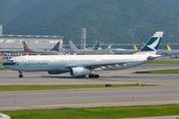 B-LAF @ VHHH - Cathay A333 taxying past - by FerryPNL
