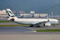B-LAG @ VHHH - Cathay A333 taxying for departure - by FerryPNL