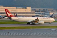 B-HLG @ VHHH - Cathay Dragon A333 - by FerryPNL
