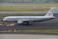 D-AICA @ EDDL - Airbus A320-212 - DE CFG Condor 'Retro' - 774 - D-AICA - 27.05.2016 - DUS - by Ralf Winter