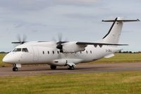 D-CIRJ @ EGSH - Leaving Norwich following re-spray. - by keithnewsome