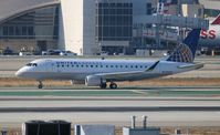 N105SY @ LAX - United Express - by Florida Metal