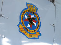 C-GBDG @ CYHM - Squadron badge - by olivier Cortot